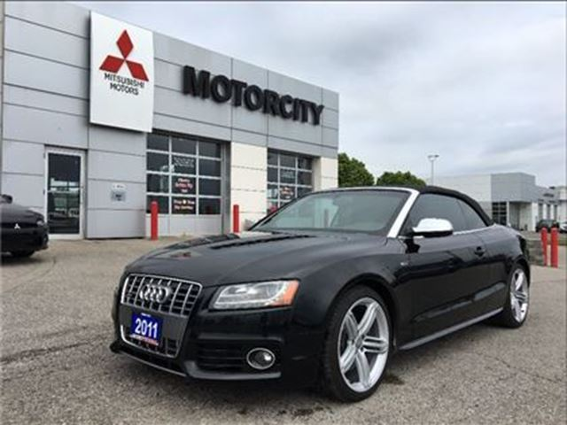 2011 AUDI S5 Premium - Loaded - Cabriolet - in Whitby, Ontario