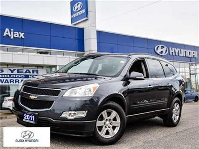 2011 Chevrolet Traverse 1LT Bluetooth One Owner Accident free in Ajax, Ontario