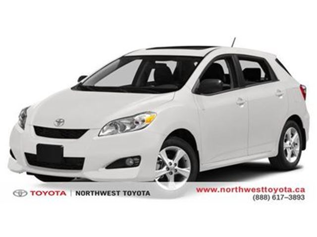 2014 Toyota Matrix S   SUNROOF   CPO in Brampton, Ontario