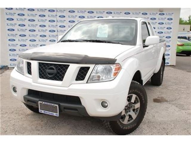 2012 NISSAN FRONTIER PRO-4X King Cab 4x4 (A5) in Welland, Ontario