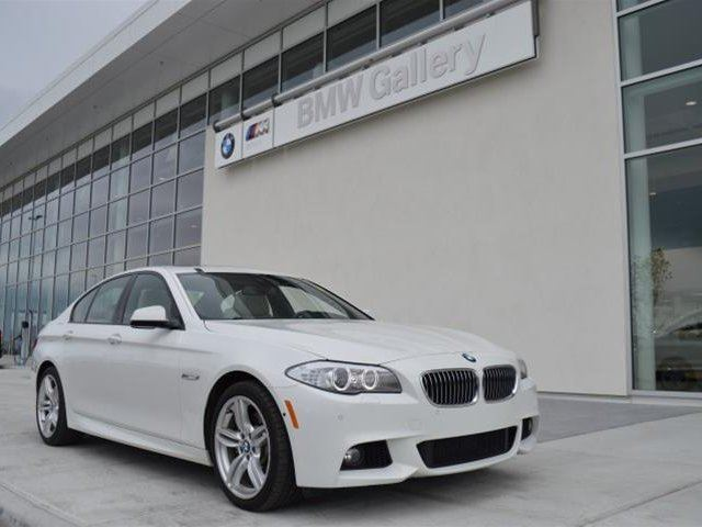 2013 BMW 5 SERIES i xDrive in Calgary, Alberta