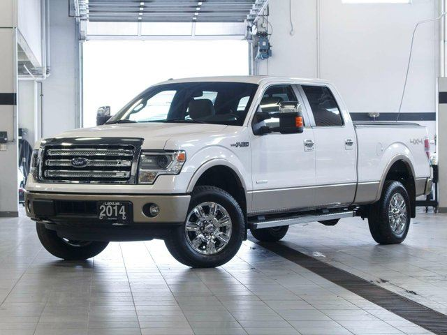 2014 FORD F-150 Lariat SuperCrew 4x4 EcoBoost in Kelowna, British Columbia