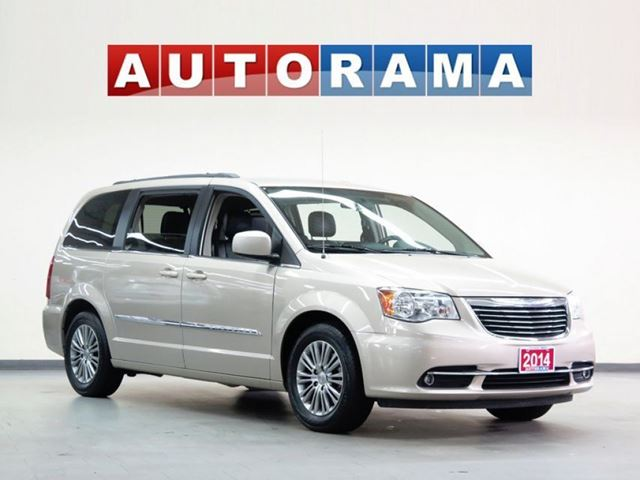 2014 Chrysler Town and Country LEATHER BACKUP CAMERA SUNROOF POWER DOORS in North York, Ontario