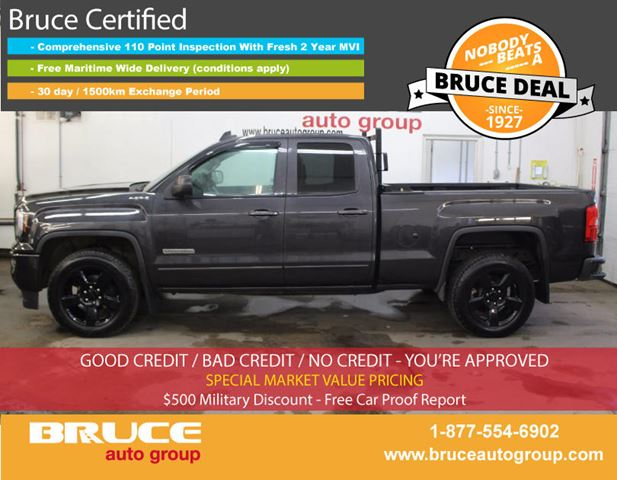 2016 GMC SIERRA 1500 ELEVATION EDITION 5.3L 8 CYL 4X4 EXTENDED CAB in Middleton, Nova Scotia