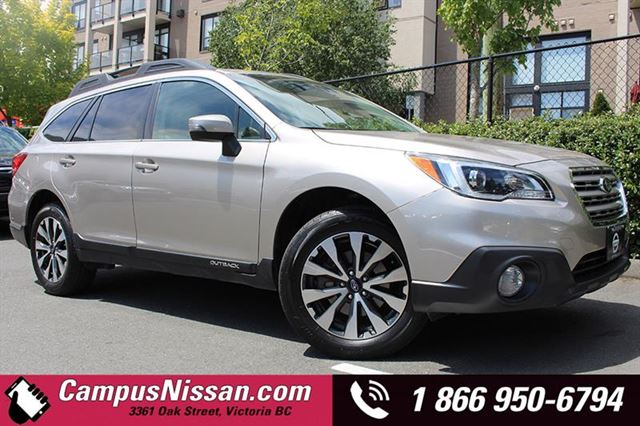 2016 SUBARU OUTBACK 2.5i Limited w Navi + Leather in Victoria, British Columbia
