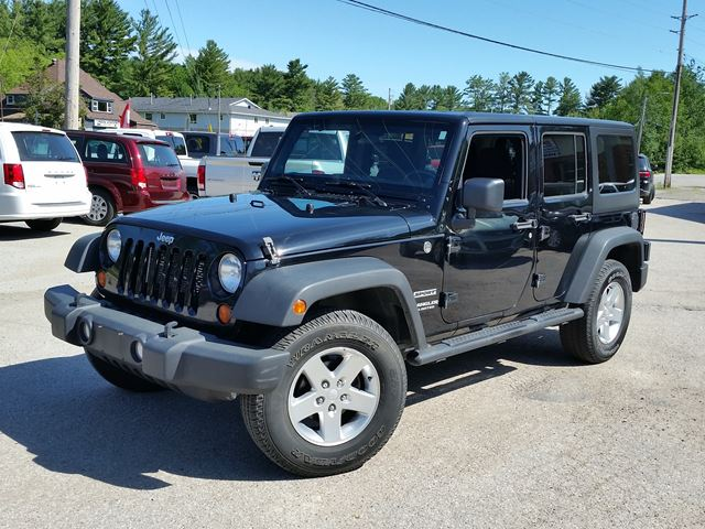 2012 Jeep Wrangler Unlimited Sport in Gravenhurst, Ontario