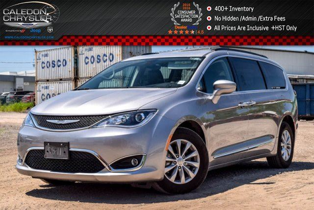2017 Chrysler Pacifica Touring-L Navi Backup Cam Bluetooth R-Start Leather 17Alloy Rims in Bolton, Ontario