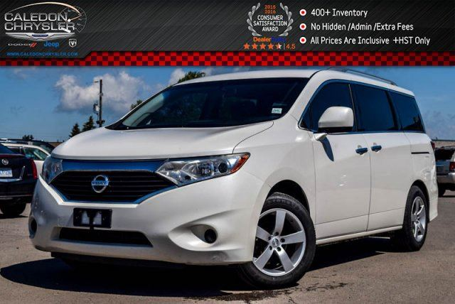 2011 Nissan Quest S Pwr Windows Pwr Locks Keyless Entry Push Start Accident Free 16Alloy Rims in Bolton, Ontario