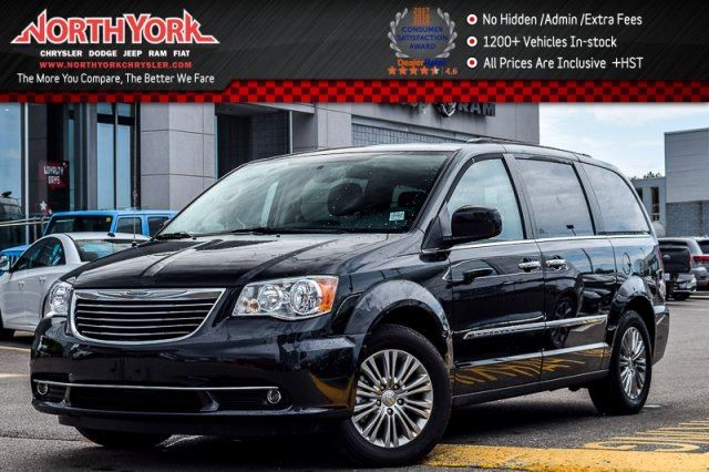 2016 Chrysler Town and Country Touring 7Seat DualDVD,DrvrConvenPkgs Sunroof Nav 17Alloys  in Thornhill, Ontario