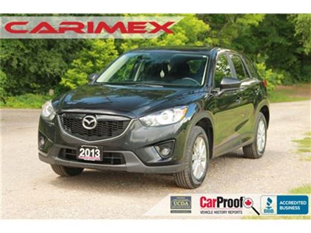 2013 MAZDA CX-5 GS   AWD + CERTIFIED + E-Tested in Kitchener, Ontario