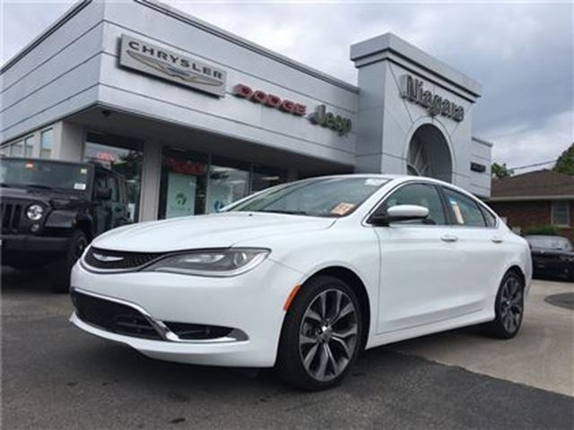 2016 CHRYSLER 200 C,LEATHER,ALLOYS,8.4 in Niagara Falls, Ontario
