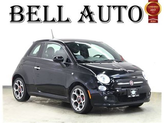2016 FIAT 500 SPORT LEATHER POWER GROUP ALLOY in Toronto, Ontario