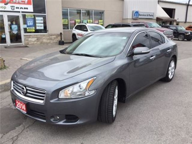 2014 Nissan Maxima SV LEATHER SUNROOF TINT in Milton, Ontario