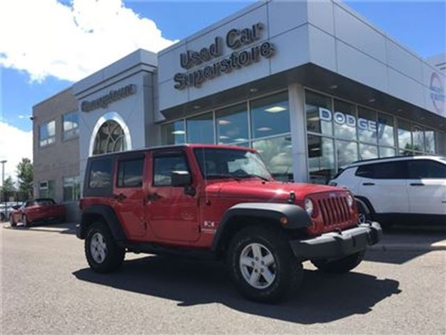 2007 JEEP Wrangler Unlimited X in Georgetown, Ontario