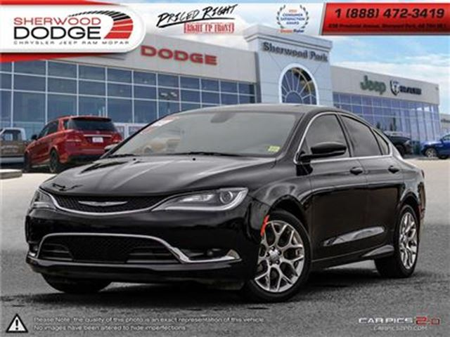 2015 CHRYSLER 200 C in Sherwood Park, Alberta