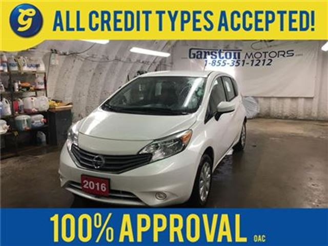 2016 Nissan Versa SV*BACK UP CAMERA*PHONE CONNECT*AM/FM/XM/CD/AUX/US in Cambridge, Ontario