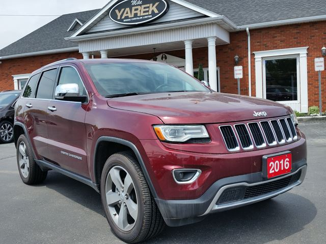 2016 JEEP GRAND CHEROKEE Limited 4x4 in Paris, Ontario