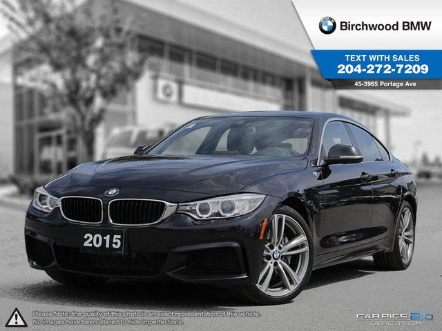 2015 BMW 4 SERIES 435i xDrive Executive Package & Premium Package! in Winnipeg, Manitoba