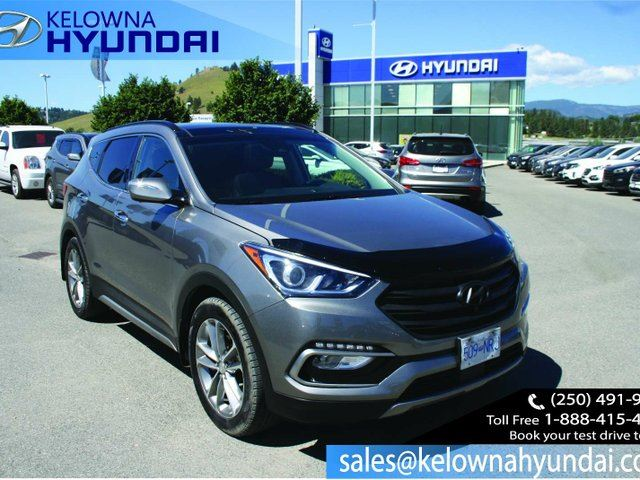 2017 HYUNDAI SANTA FE 2.0T Ultimate 4dr All-wheel Drive in Kelowna, British Columbia