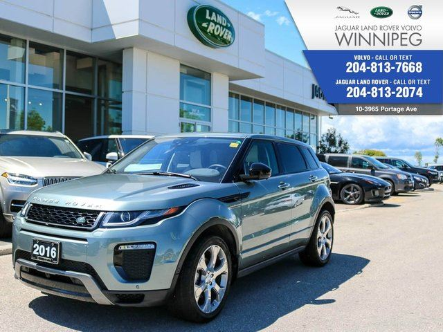 2016 LAND ROVER RANGE ROVER EVOQUE HSE Dynamic *LOCAL* *LOW KM* in Winnipeg, Manitoba