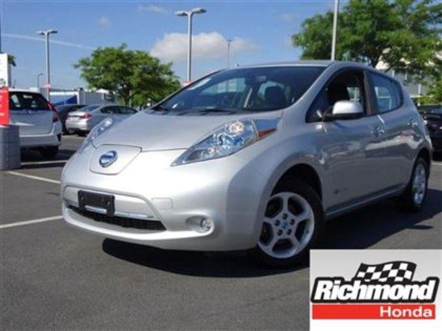 2013 Nissan Leaf SV! 6 Months Powertrain Warranty Included! in Richmond, British Columbia