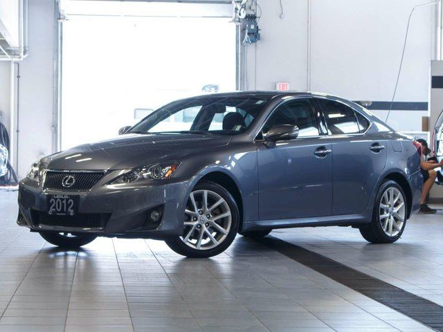 2012 LEXUS IS 250 Leather and Moonroof w/Navigation in Kelowna, British Columbia