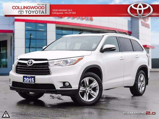 2015 Toyota Highlander LIMITED AWD NEW TIRES AND BRAKES in Collingwood, Ontario