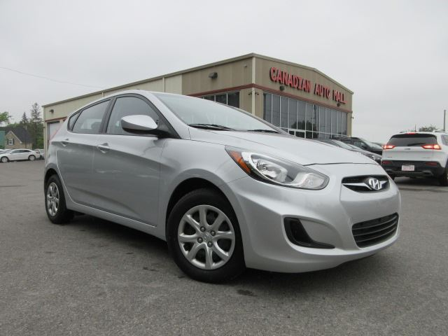 2014 Hyundai Accent GL 6SPD, HTD. SEATS, BT, JUST 40K! in Stittsville, Ontario