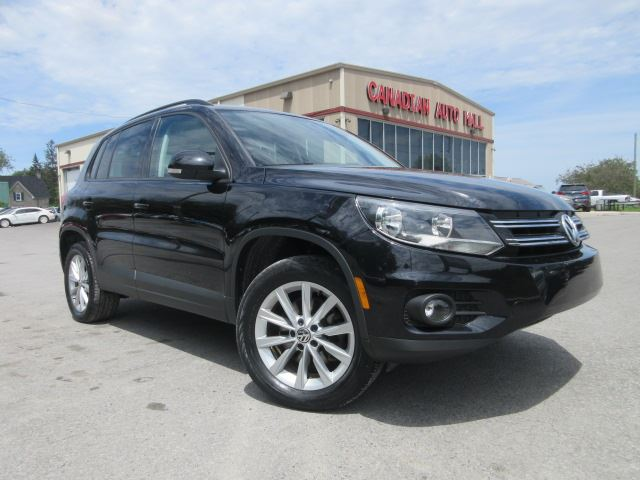 2013 Volkswagen Tiguan AWD COMFORTLINE, ROOF, LEATHER! in Stittsville, Ontario