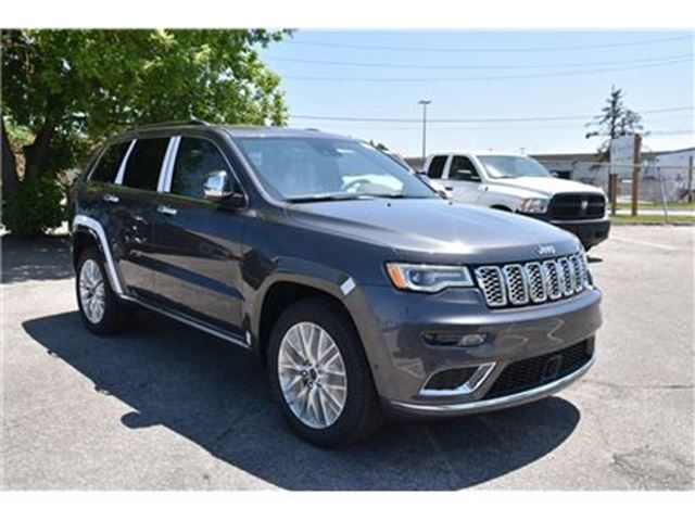 2017 jeep grand cherokee summit concord ontario car for sale 2806303. Black Bedroom Furniture Sets. Home Design Ideas