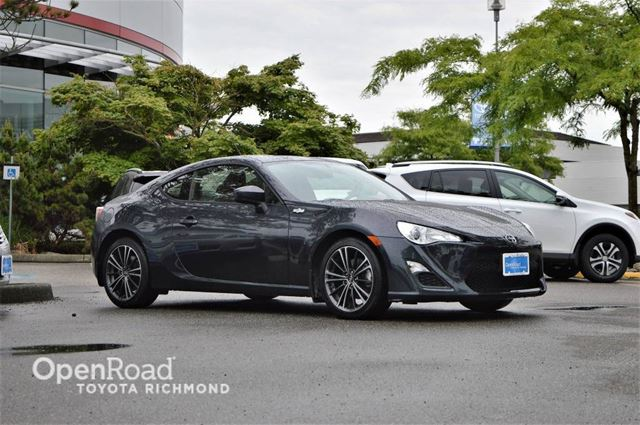 2014 SCION FR-S Toyota Certified, balance of factory warranty,  in Richmond, British Columbia