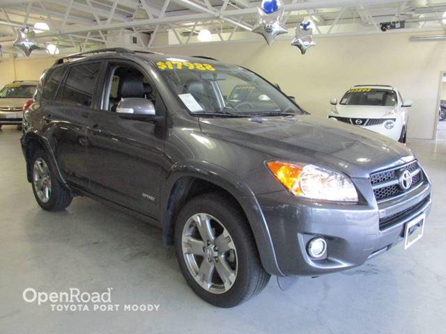 2011 Toyota RAV4 Sport - Leather, Sunroof, Heated Fronts Seats in Port Moody, British Columbia