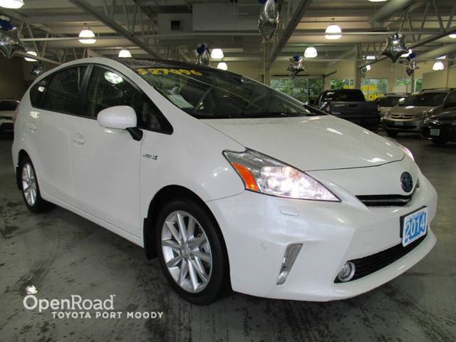 2014 Toyota Prius Tech Package - Navigation, Intelligent Park Ass in Port Moody, British Columbia