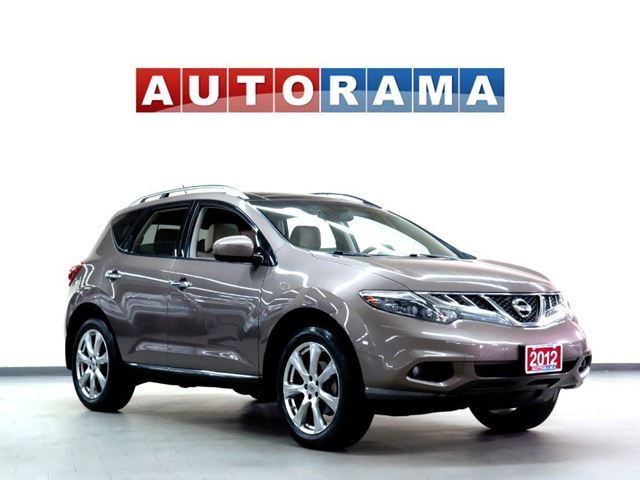 2012 Nissan Murano PLAT PKG NAVI LEATHER PAN SUNROOF 4WD BACKUP CAM in North York, Ontario