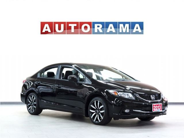 2013 Honda Civic TOURING PKG NAVI LEATHER SUNROOF BACKUP CAM in North York, Ontario