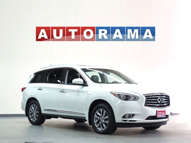 2014 Infiniti QX60 NAVIGATION AWD BACK UP CAMERA LEATHER SUNROOF 7 in North York, Ontario