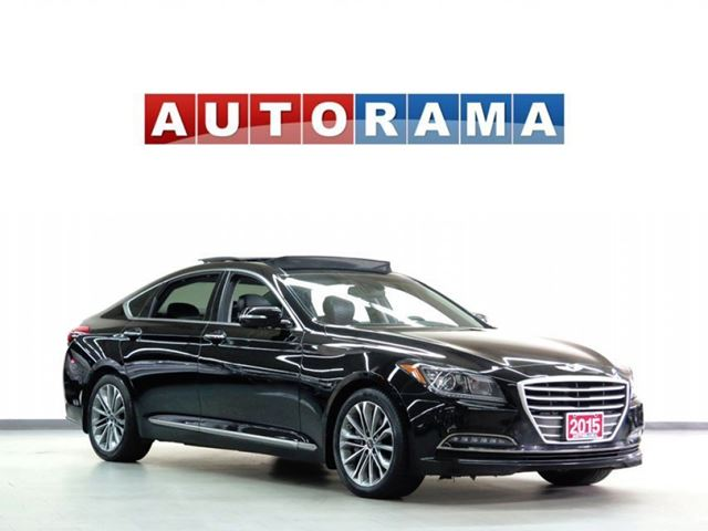 2015 Hyundai Genesis NAVIGATION 4WD LEATHER SUNROOF BACKUP CAM in North York, Ontario