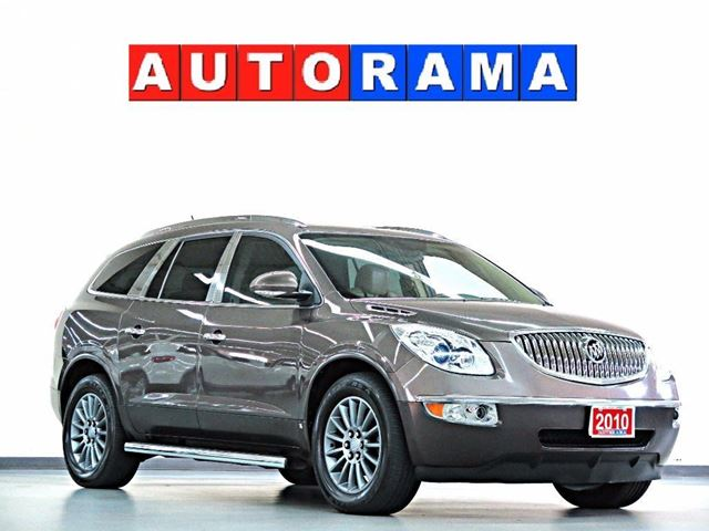 2010 Buick Enclave CXL NAVI LEATHER PAN SUNROOF AWD BACKUP CAM in North York, Ontario
