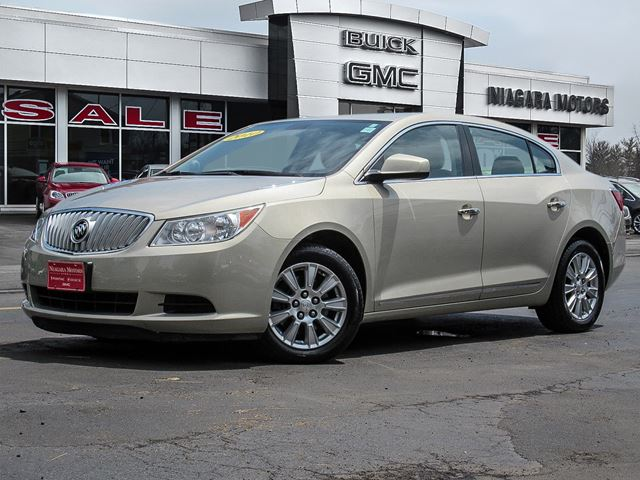2010 Buick LaCrosse CXL V6 - ** ONE OWNER! Purchased, serviced AND  in Virgil, Ontario