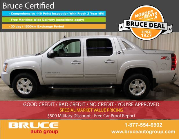 2013 Chevrolet Avalanche 1500 Z71 LT 5.3L 8 CYL AUTOMATIC 4X4 CREW CAB in Middleton, Nova Scotia