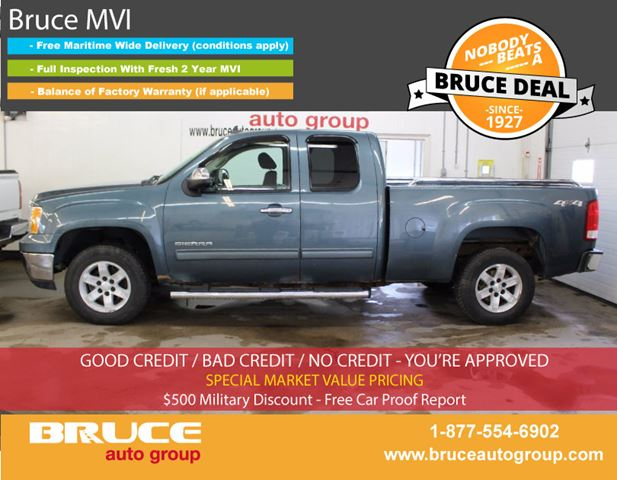 2010 GMC Sierra 1500 SLE 5.3L 8 CYL AUTOMATIC 4X4 EXTENDED CAB in Middleton, Nova Scotia