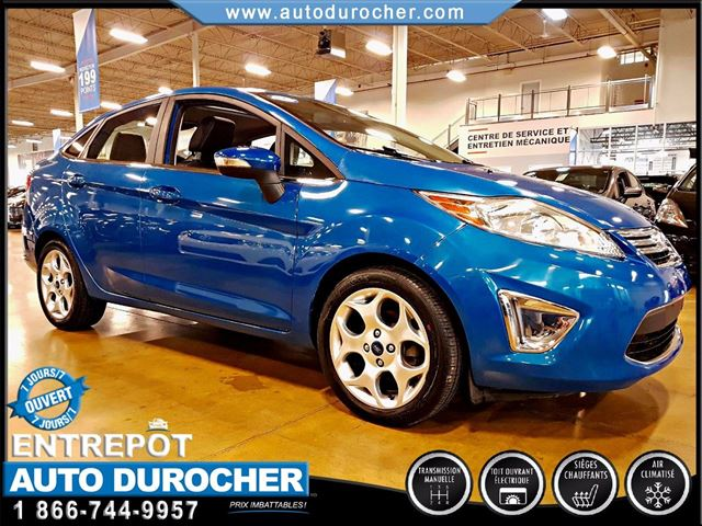 2012 Ford Fiesta SEL - AIR CLIMATISn++ - TOIT OUVRANT - CUIR in Laval, Quebec