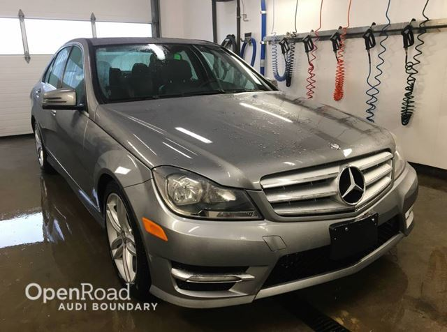 2012 MERCEDES-BENZ C-CLASS 4dr Sdn C 250 4MATIC in Vancouver, British Columbia