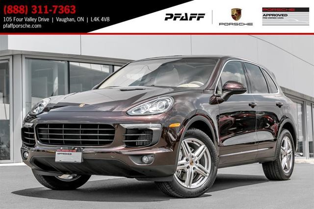 2015 PORSCHE CAYENNE S w/ Tip in Woodbridge, Ontario