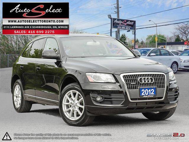 2012 AUDI Q5 Quattro AWD ONLY 152K! **BACK-UP CAMERA** CLEAN CARPROOF in Scarborough, Ontario