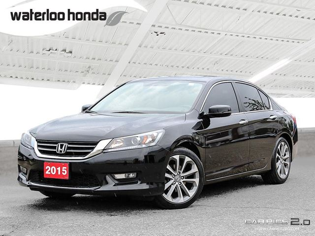 2015 Honda Accord Sport Sold Pending Customer Pick Up...Back Up Camera, Heated Seats and more! in Waterloo, Ontario