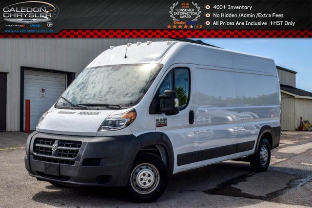 2015 RAM PROMASTER 2500 High Roof Diesel Backup Cam Bluetooth Keyless Entry in Bolton, Ontario