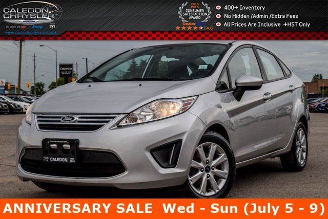 2012 Ford Fiesta SE Bluetooth Pwr Windows Pwr Locks Keyless Entry Alloy Rims in Bolton, Ontario