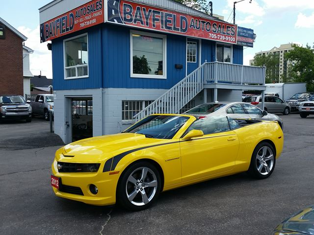 2012 Chevrolet Camaro 2SS Convertible **V8/Auto/Only 25k!** in Barrie, Ontario
