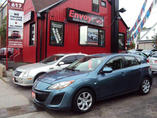 2010 Mazda MAZDA3 ONE OWNER!!AUTOMATIC!!CRUISE!!NEW TIRES!! in Ottawa, Ontario